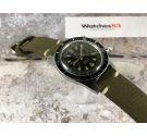 SANDOZ Vintage chronograph swiss hand winding watch Cal. Landeron 248 diver 200 M CHOCOLATE *** TROPIC DIAL ***