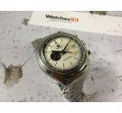 TISSOT NAVIGATOR Ref. 45500 vintage swiss automatic watch Lemania 1343 PANDA DIAL *** SPECTACULAR ***