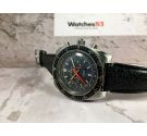 RADIANT Vintage swiss manual winding Chronograph DIVER watch Landeron 149 Threaded crown *** ALMOST NOS ***