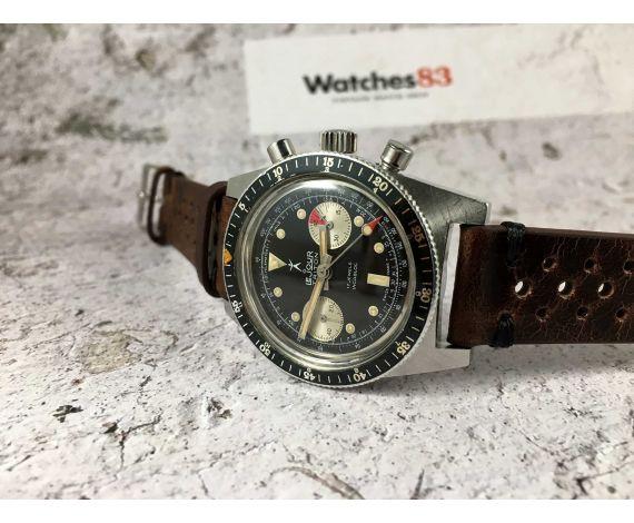 LE JOUR TRITON Reloj cronógrafo suizo de cuerda Vintage Cal. Landeron 248 Espectacular COLECCIONISTAS *** DIVER ***
