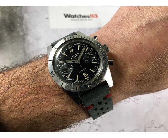 LATOR Reloj cronógrafo suizo de cuerda Vintage Cal. Landeron 248 Espectacular DIVER *** 20 ATM ***