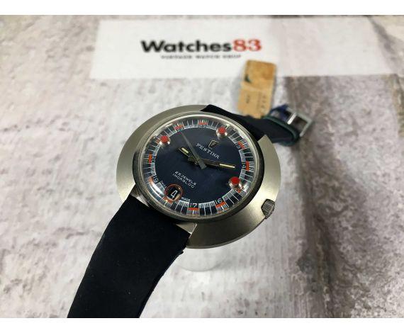 NOS FESTINA Reloj suizo antiguo automático 25 jewels 10 ATM *** NUEVO DE ANTIGUO STOCK ***