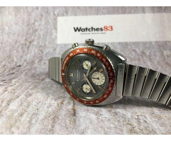 ETERNA CHRONO Ref. 154 FTP-7 Reloj cronógrafo suizo antiguo de cuerda Cal. Valjoux 72 *** COLECCIONISTAS ***
