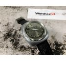 SILVER EXTRA Vintage swiss automatic watch 25 Jewels Cal. 158 BF6 *** OVERSIZE ***