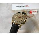 ENICAR Vintage Chronograph swiss hand winding watch Cal. Venus 188 + ORIGINAL BOX *** COLLECTORS ***