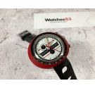 NOS HEUER LEONIDAS Easy Rider Vintage chronograph manual winding watch Cal. EB 8420 ICONIC SPECTACULAR *** NEW OLD STOCK ***