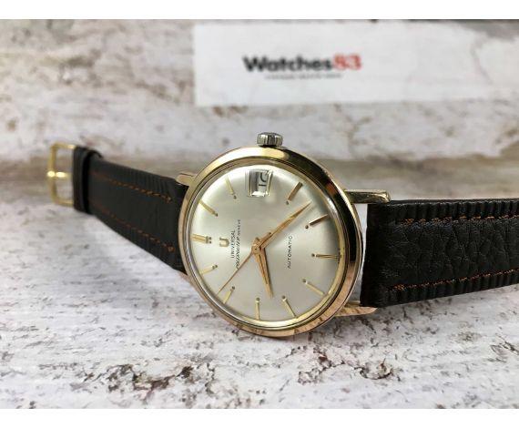 UNIVERSAL GENEVE POLEROUTER Ref. 404604/1 Reloj suizo antiguo automático Cal 218-2 MICROTOR *** PRECIOSO ***
