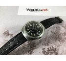 LONGINES ADMIRAL 5 STAR Ref. 501-1002 Vintage swiss automatic watch Cal. 505 DIVER Screw crown *** BLACK DIAL ***