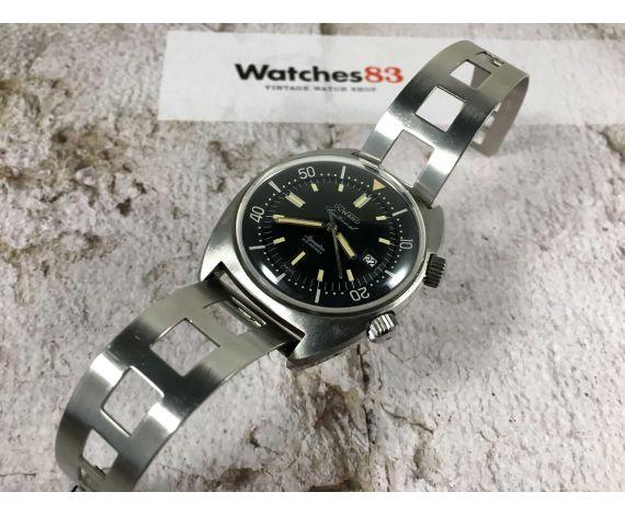 DUWARD AQUASTAR CONTINUAL 200M Vintage Diver swiss automatic watch 20 ATM Cal. ETA 2472 Ref. 1341 *** SUPER COMPRESSOR ***