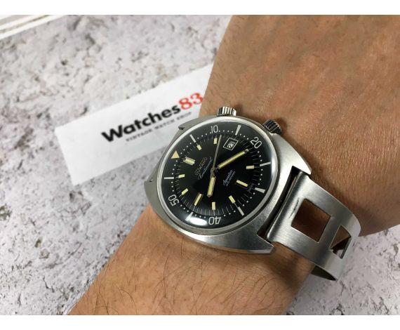 DUWARD AQUASTAR CONTINUAL 200M Reloj Diver suizo vintage automático 20 ATM Cal. ETA 2472 Ref 1341 *** SUPER COMPRESOR ***