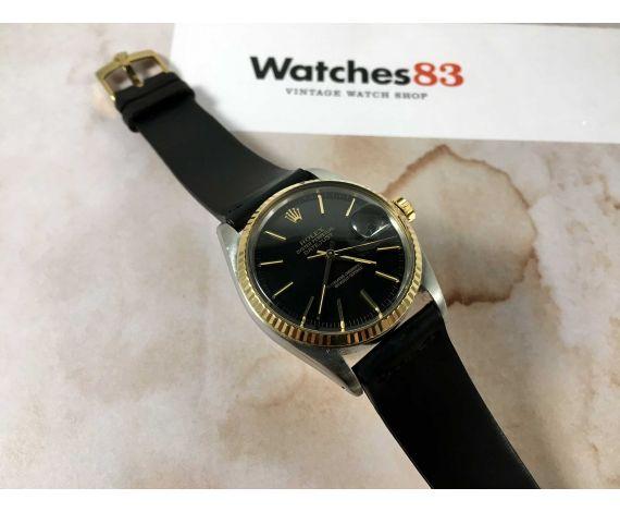 ROLEX OYSTER PERPETUAL DATEJUST Ref. 16030 Reloj suizo vintage automático Cal. 3035 COLECCIONISTAS *** DIAL TROPICALIZADO ***