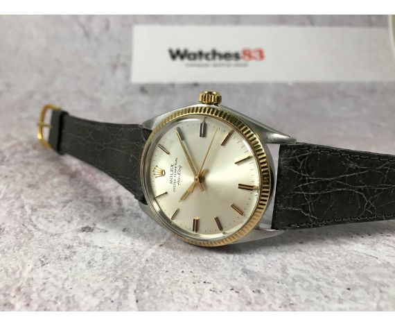 ROLEX OYSTER PERPETUAL AIR-KING Ref. 5501 Vintage swiss automatic watch Cal. 1530 Threaded crown *** COLLECTORS ***