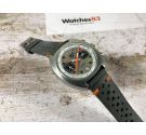 CAMIF Vintage swiss hand winding chronograph watch Valjoux 7734 Oversize SPECTACULAR *** RACING DIAL ***