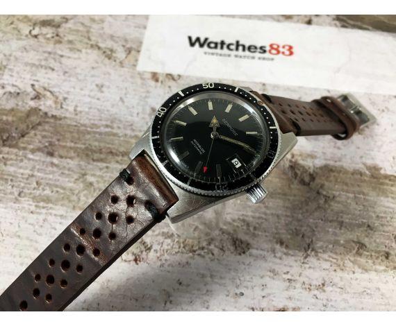 BENMORE Vintage swiss atomatic watch Cal. AS 1903 Bidirectional bezel BROAD ARROW *** DIVER ***