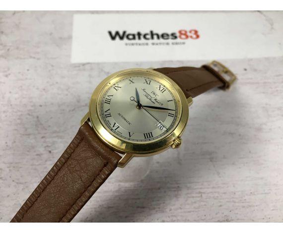 IWC PORTOFINO ROMAIN Ref. 3209 Reloj antiguo suizo automático 33 JEWELS Cal. 889/1 *** 18K – 0,750 ***