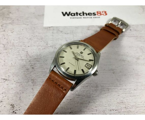 UNIVERSAL GENEVE POLEROUTER SUPER Reloj suizo vintage automático Cal. Microtor 1-69 *** PRECIOSO ***