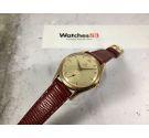 OMEGA Ref. BK 2503-6 Swiss vintage hand winding watch Cal. 265 OVERSIZE Plaque OR *** JUMBO ***