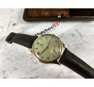 CYMA (TAVANNES) Swiss vintage manual winding watch Cal. 586 Gold 18K 0.750 OVERSIZE *** BOX ***
