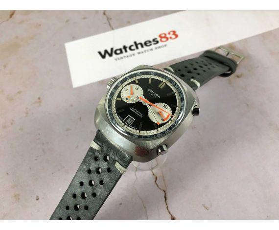ORIOSA Reloj cronógrafo suizo antiguo automático Cal. 12 BUREN JRGK *** ESPECTACULAR ***