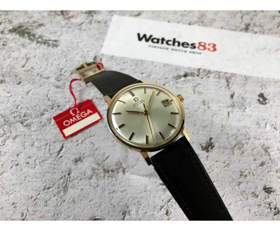 OMEGA Ref. 162.009 Reloj suizo antiguo automático Cal. 565 Plaqué Or G 20 MICRONS *** CASI NOS ***