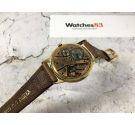 RADIANT Reloj antiguo suizo de cuerda Cal. AS 1130 Plaqué OR 21 RUBIS Gran diámetro *** PRECIOSO ***