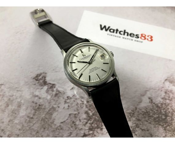 OMEGA CONSTELLATION Crono Oficial Certificado Reloj suizo antiguo automático Cal 1001 Ref 168.033-166.052 *** ESPECTACULAR ***