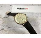 MENSEL Vintage swiss hand winding watch OVERSIZE *** PLAQUE OR ***