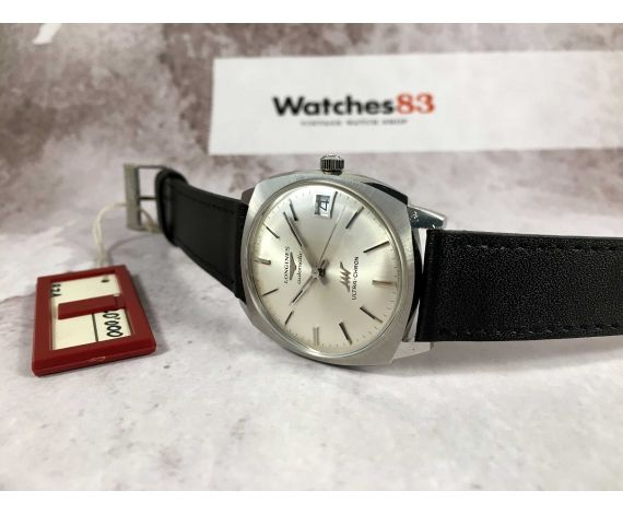 NOS LONGINES ULTRA-CHRON Ref. 7851-7 Swiss vintage automatic watch Cal. 431 *** NEW OLD STOCK ***