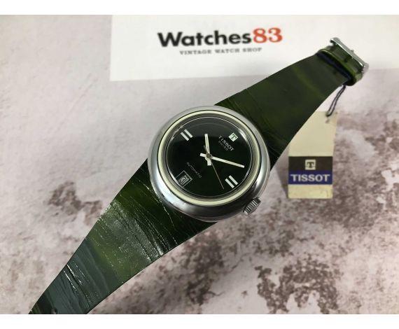 NOS TISSOT SIDERAL Reloj vintage suizo automático Cal. 2481 ESPECTACULAR Caja acero y fiberglass *** NUEVO DE ANTIGUO STOCK ***
