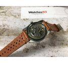 AURORE LUXE Vintage hand winding watch DIVER 10 ATM LOLLIPOP *** BROAD ARROW ***