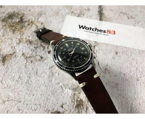 CAMY GENEVA Ref. 7311 Reloj vintage suizo de cuerda SKIN DIVER 5 ATM Cal. FHF 96-4 BROAD ARROW *** DIVER ***