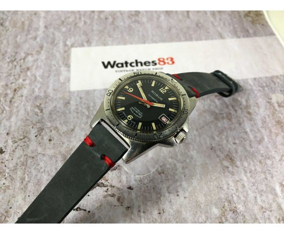 ROBUR SOUS MARINE Vintage DIVER swiss automatic watch 20 ATM Cal. AS 2063 *** OVERSIZE ***