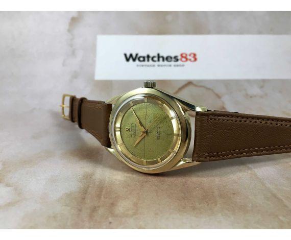 UNIVERSAL GENEVE POLEROUTER Reloj suizo vintage automático 28 JEWELS Cal. 215 MICROTOR *** PRECIOSO ***