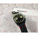 BWC SWISS Reloj vintage suizo de cuerda cronógrafo Cal Landeron 248 *** REVERSE PANDA DIAL ***