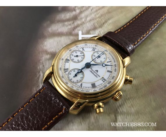 Good Watch Brands For Men >> Vintage watch chronograph Maurice Lacroix automatic Masterpiece Maurice Lacroix Vintage watches ...