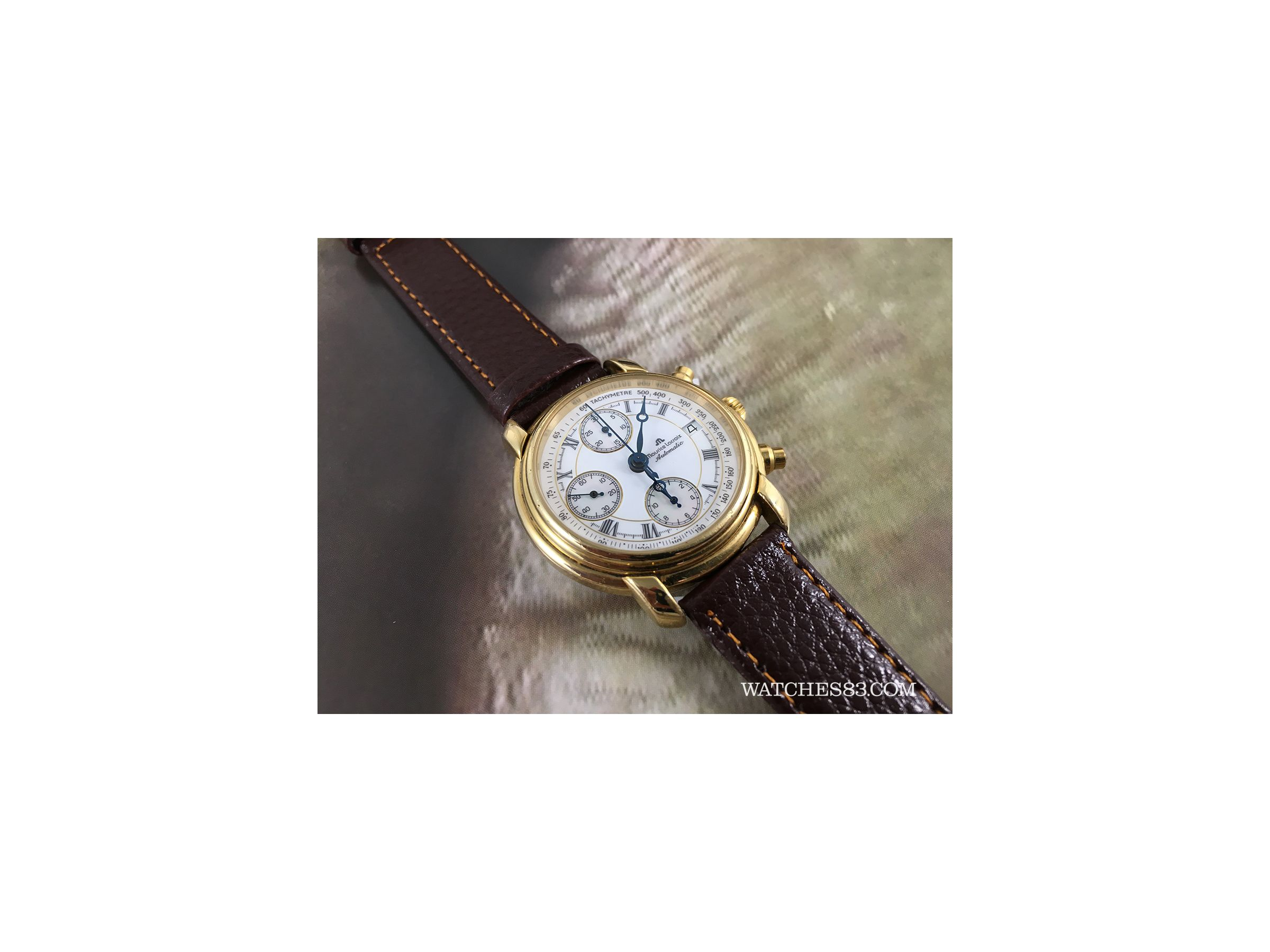 Good Watch Brands For Men >> Vintage watch chronograph Maurice Lacroix automatic ...