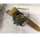 HALCON Vintage hand winding chronograph watch Cal. Landeron 248 Bidirectional bezel 12 ATM *** DIVER ***