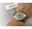 NOS CRYSREY Vintage swiss manual winding watch Cal. FHF 26 OVERSIZE ENGRAVED DIAL *** NEW OLD STOCK ***