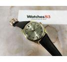 BUREN RIVAL Reloj suizo de cuerda antiguo Cal. FHF 96-4 PLAQUÉ OR 17 jewels *** PRECIOSO ***