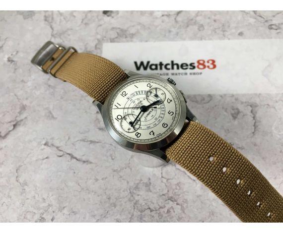 UNIVERSAL GENEVE COMPUR Reloj Cronógrafo suizo antiguo de cuerda Cal. 285 *** COLECCIONISTAS ***