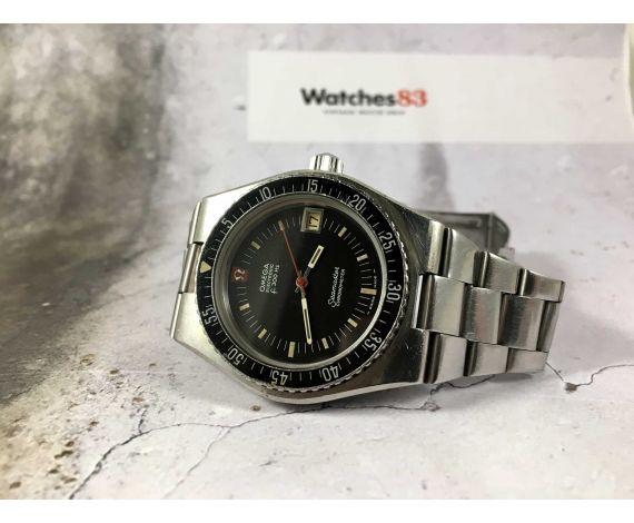 OMEGA SEAMASTER ELECTRONIC F300 HZ Ref. 198.0005 Chronometer Reloj suizo antiguo Cal. 916T CORONA ROSCADA *** DIVER ***