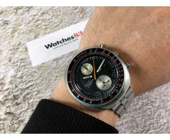 SEIKO UFO Reloj cronógrafo antiguo automático Cal 6138B JAPAN J Ref. 6138-0011 *** COLLECTORS ***