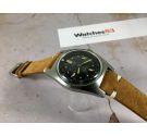 DUWARD AQUASTAR Vintage DIVER swiss automatic watch Cal. AS 1700/01 OVERSIZE Ref. 1701 *** 200 MÈTRES ***