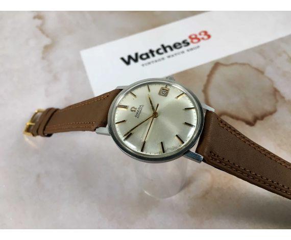 OMEGA GENÈVE Ref. 162.009 SP Reloj suizo vintage automático 24 Jewels cal. 562 + ESTUCHE *** PRECIOSO ***