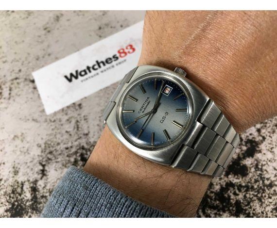 CERTINA DS3 Reloj suizo vintage automático Ref. 606-80 Cal. C.E. 004 (ETA 2784) *** ESPECTACULAR ***