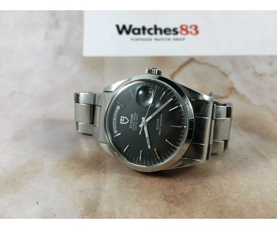 TUDOR OYSTER PRINCE DATE DAY Ref. 94500 Reloj suizo vintage automatico Cal. ETA 2834-1 *** ESPECTACULAR ***