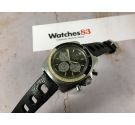 MOVADO DATACHRON HS 360 Vintage chronograph automatic watch Cal 3019 PHC. SUPER SUB SEA 10 ATM *** GREEN CHOCOLATE DIAL ***