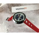 HEUER LEONIDAS EASY RIDER Vintage swiss hand wind chronograph Cal. EB 8420 *** ALMOST N.O.S. ***