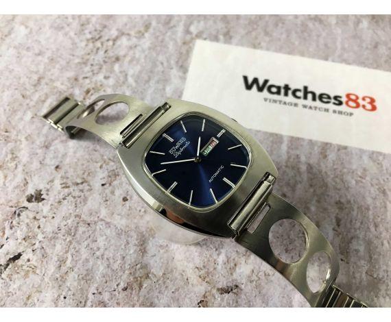 DUWARD DIPLOMATIC Reloj suizo vintage automático Calendar Cal. ETA 2658 GY Ref. 9510 *** 21 JEWELS ***