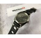 ROLEX OYSTER PERPETUAL DATE Ref. 1500 DIAL SIGMA SILVER Vintage swiss automatic watch Cal. 1570 *** SPECTACULAR ***